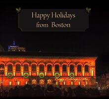 Happy Holidays from Boston by Owed To Nature