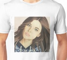 Barbara Palvin colored pencil Unisex T-Shirt