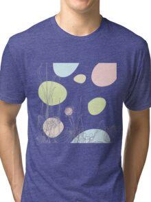 Pastel Garden Tri-blend T-Shirt