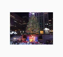 Christmas Tree, Skating Rink, Rockefeller Center, New York City Unisex T-Shirt