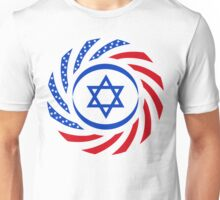 Israeli American Multinational Patriot Flag 1.0 Unisex T-Shirt