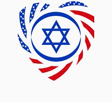Israeli American Multinational Patriot Flag 2.0 Womens Fitted T-Shirt