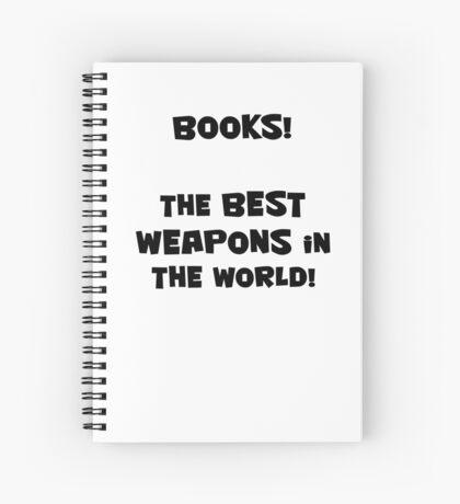 Books! Spiral Notebook