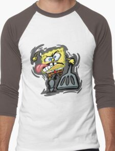 spongebob Men's Baseball ¾ T-Shirt