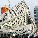 New Skyscraper Construction, West 57th Street, New York City by lenspiro