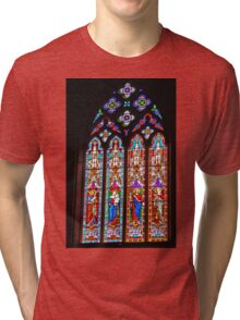St Peter's and St Paul's, Old Cathedral, Goulburn Tri-blend T-Shirt