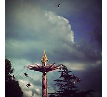 I can fly higher than you Photographic Print