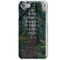 Quotes Make the World Go Round iPhone Case/Skin