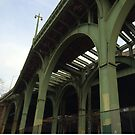 Abandoned West Side Highway, Riverside Park, New York City by lenspiro