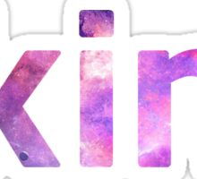Skins UK logo TV show Galaxy Sticker