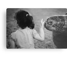 Bye bye turtle Metal Print
