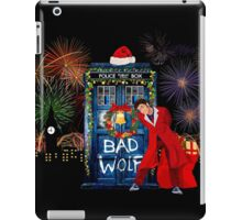Happy New year from 10th Doctor iPad Case/Skin