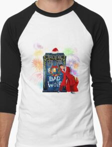 Happy New year from 10th Doctor Men's Baseball ¾ T-Shirt