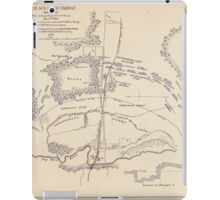 Civil War Maps 0667 Map of battlefield of Big Black River Bridge Mississippi showing the positions of the US troops May 17th 1863 iPad Case/Skin