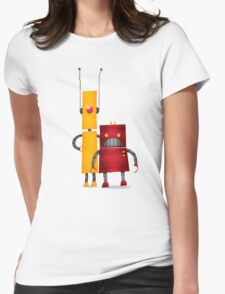 Robot2 Womens Fitted T-Shirt