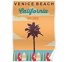 Venice Beach - California.  Poster