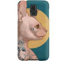Tattoo Sphinx Cat Samsung Galaxy Case/Skin