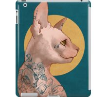 Tattoo Sphinx Cat iPad Case/Skin