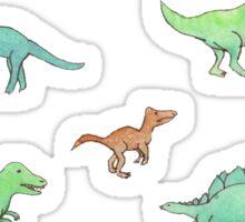 Dillydallying Dinosaurs Sticker