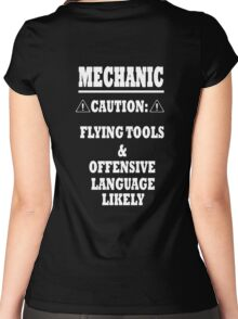 Mechanic Funny Women's Fitted Scoop T-Shirt