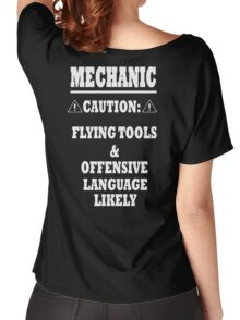 Mechanic Funny Women's Relaxed Fit T-Shirt