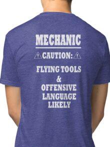 Mechanic Funny Tri-blend T-Shirt