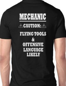 Mechanic Funny Unisex T-Shirt