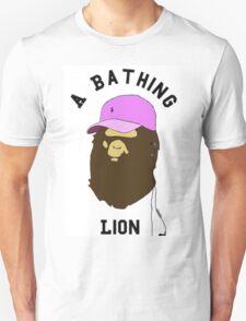 A Bathing Lion T-Shirt