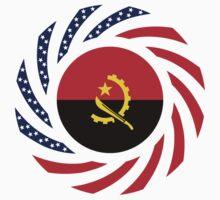 Angolan American Multinational Patriot Flag Baby Tee