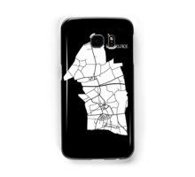 Kaprijke Wit Samsung Galaxy Case/Skin