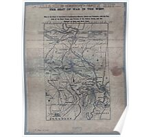 Civil War Maps 1906 War maps and diagrams 02 Poster