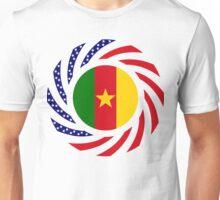 Cameroon American Multinational Patriot Flag Series 1.0 Unisex T-Shirt