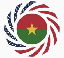Burkina Faso American Multinational Patriot Flag 1.0 One Piece - Long Sleeve