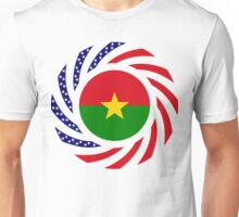 Burkina Faso American Multinational Patriot Flag 1.0 Unisex T-Shirt
