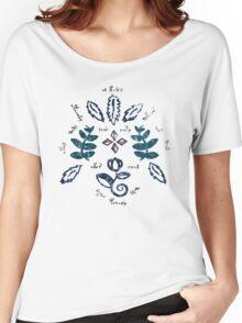 Voynich Pattern Women's Relaxed Fit T-Shirt