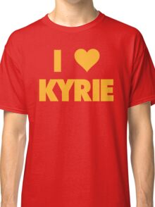 I LOVE KYRIE Irving Cleveland Cavaliers Basketball Classic T-Shirt