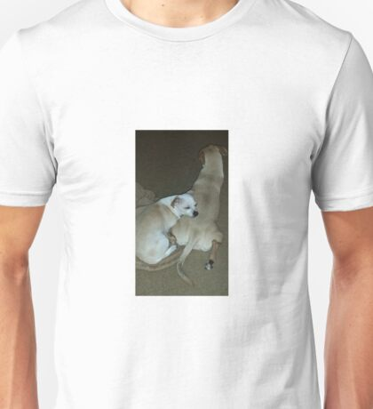Sleeping Puppies Unisex T-Shirt