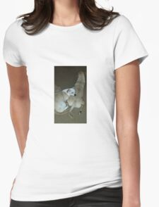 Sleeping Puppies Womens Fitted T-Shirt