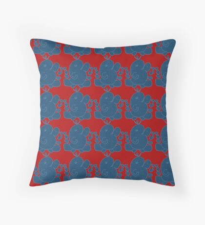 Ganesha - wisdom for the ages! Throw Pillow