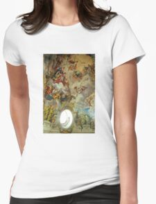 Karlskirche, Vienna, Austria Womens Fitted T-Shirt