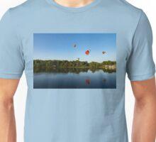 Flying Away in a Balloon... Unisex T-Shirt
