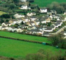 Leper Strips of Taddiport, Devon, UK Sticker