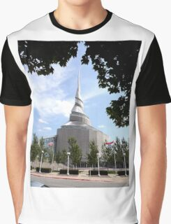 Temple of the Community of Christ, Independence, Missouri Graphic T-Shirt