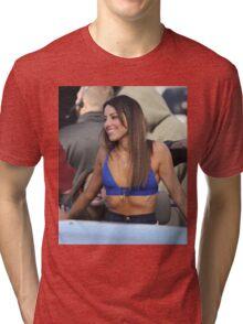 Aubrey Plaza - Color - 2 Tri-blend T-Shirt