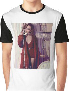 Aubrey Plaza - Color - 3 Graphic T-Shirt