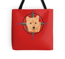 Dog Compass Tote Bag