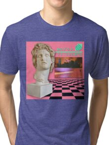 Floral Shoppe Macintosh Plus Tri-blend T-Shirt