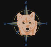 Shiba Inu - Doge Compass Kids Tee