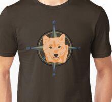 Shiba Inu - Doge Compass Unisex T-Shirt