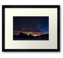Morning light creeping in Framed Print